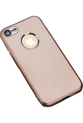 Case 4U Apple iPhone 6 Plus - 6S Plus Silikon Kılıf Luxury Rose Gold