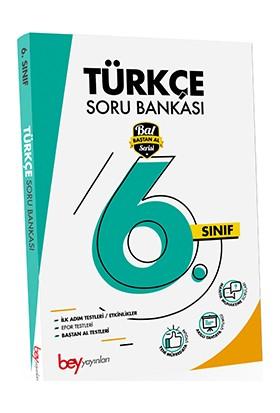 Bey Yayınları 6. Sınıf Türkçe Soru Bankası