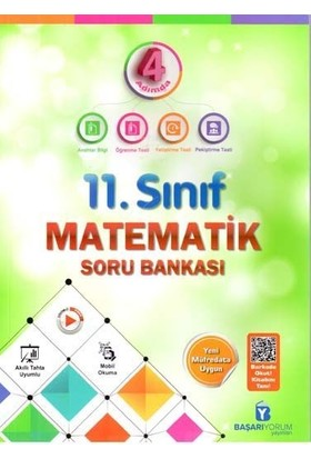 Başarıyorum Yayınları 11. Sınıf Matematik Soru Bankası