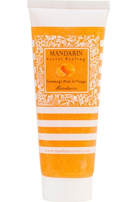 Madame Coco Yüz Peelingi 75 ml Mandarin (Mandalina)