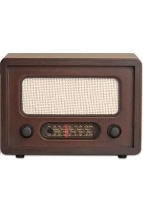 BuldumBuldum Nostaljik Görünümlü Uzaktan Kumandalı Gerçek Radyo