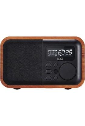 Loci iBox D90 Bluetooth USB MP3 Müzik Çalar FM Radyo