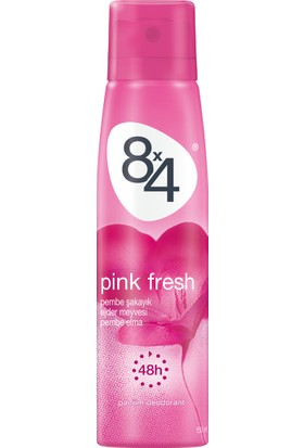 8X4 Pınk Fresh Sprey 150Ml Kadın