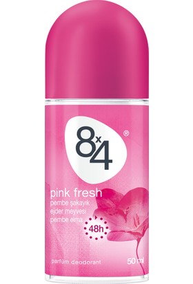 8X4 Pınk Fresh Roll-On 50Ml Kadın