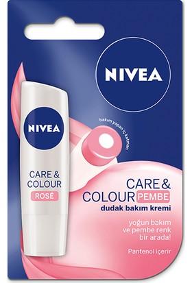 Nivea Lip Bakımlı & Renkli Dudak Balmı Pembe 4,8G