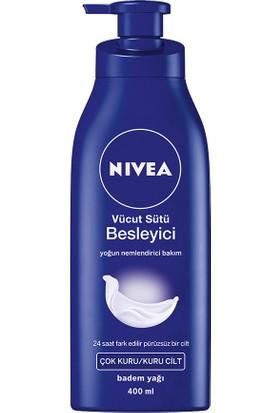 Nivea Besleyici Vücut Sütü (Yoğun Nemlendirici Bakım) 400Ml