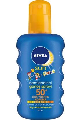 Nivea Çocuk Renkli Nemlendirici Güneş Spreyi 50 Faktör