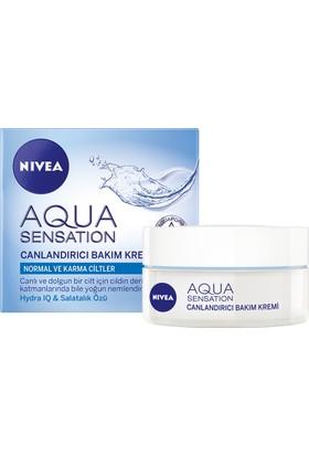 Nivea Aqua Sensatıon Canlandırıcı Yüz Bakım Kremi 50Ml