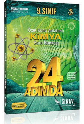 Sınav 9. Sınıf Kimya Soru Bankası 24 Adımda