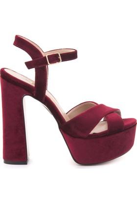 Kemal Tanca 181Tck668 4004 Kadın Platform Topuk Ayakkabı