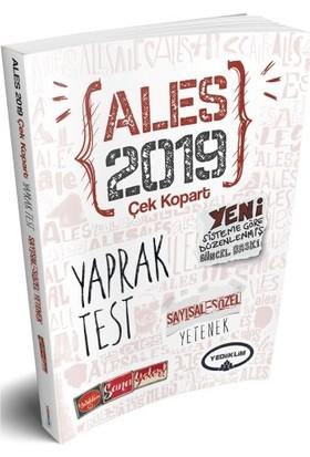 Yediiklim Yayınları 2019 ALES Sayısal Yetenek-Sözel Yetenek Çek Kopart Yaprak Test