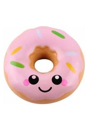 Squishmeez Squishy Donut Jumbo Pembe Sukuşi