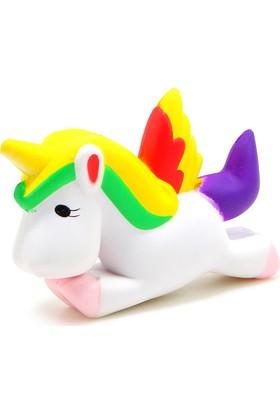 Squishmeez Squishy Unicorn Rainbow Sukuşi