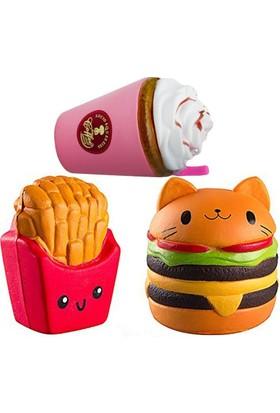 Squishmeez Squishy Jumbo Süper Fast Food Pack Sukuşi