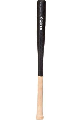 Cosfer BYZ-SY Beyzbol Sopası. 61 cm Dişbudak - Siyah