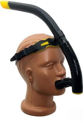 Cosfer CSF-S15S (Siyah) Silikon Yetişkin Eğitim Şnorkel