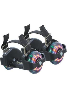 Cosfer CSF-ITP-S İki Tekerlekli Topuk Pateni - Siyah
