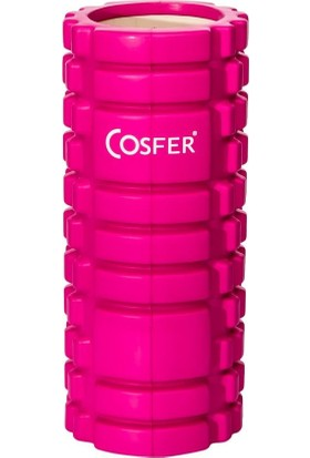 Cosfer CSF-56P Hollow Foam Roller - Pembe