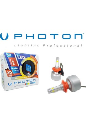 Photon H7 360' Led Xenon 6200Lumen 6000K Drl Turuncu