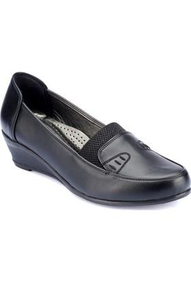 Polaris 82.150026.Z Siyah Kadın Ayakkabı