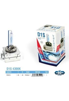 Photon D1S 4300K Xenon Ampül %50 Fazla Işık 2 Adetli