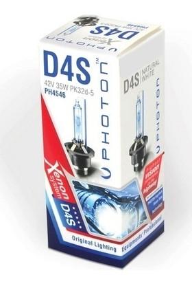 Photon D4S - D4R 5000K +%50 Fazla Işık Xenon Ampül