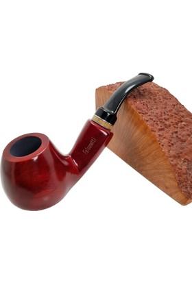 Falconetti Red Sandalwood Ahşap Bilezikli Pipo py20