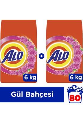 Alo Toz Çamaşır Deterjanı Beyazlar ve Renkliler İçin Gül Bahçesi 6 kg + 6 kg