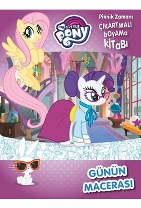 My Little Pony Günün Macerası - Piknik Zamanı Çıkartmalı Boyama Kitabı