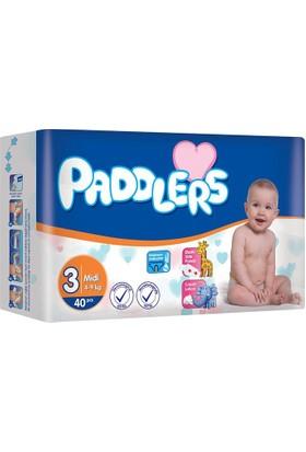 Paddlers Midi 3 Numara 40 Adet (4-9 kg)
