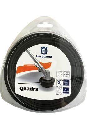 Husqvarna Quadra 3.3 mm Kare Misina 40m
