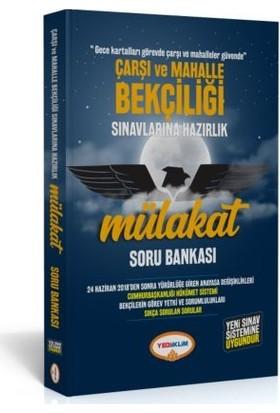 Yediiklim Yayınları Çarşı Ve Mahalle Bekçiliği Sınavlarına Hazırlık Mülakat Soru Bankası
