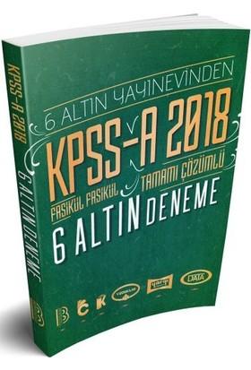 Benim Hocam Yayınları 2018 KPSS - A Fasikül Fasikül Tamamı Çözümlü 6 Altın Deneme - Özlem Oktar