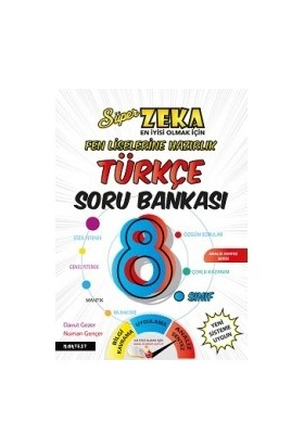 Nartest Yayınevi 8. Sınıf Türkçe Soru Bankası Fen Liselerine Hazırlık