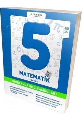 Bilfen 5. Sınıf Matematik Konu Anlatımlı Fasikül Set 2019 Müfredattır