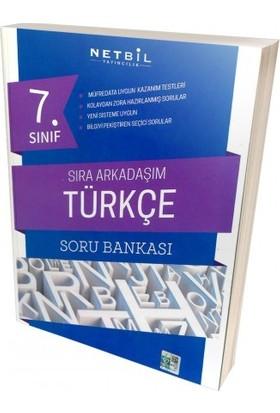 Netbil 7. Sınıf Türkçe Sıra Arkadaşım Soru Bankası 2019 Yeni Müfredat