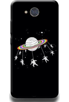 Exclusive Casper Via A1 Uzayda Lunapark Desenli Telefon Kılıfı