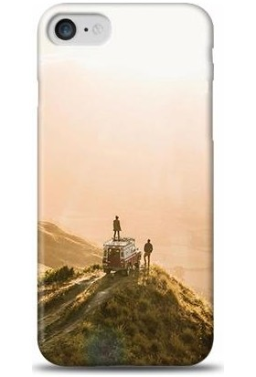 Exclusive Apple iPhone 8 Tepe Manzarası Desenli Kılıf