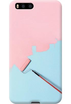 Exclusive Xiaomi Mi 6 Rulo Boya Desenli Kılıf