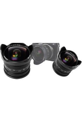 7artisans Objektif 7artisans 7.5mm F2.8 Fisheye Fixed Lens Sony uyumlu