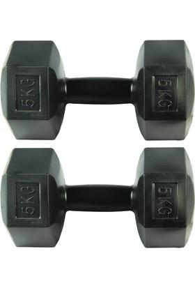 Dambılcım 5 KG x 2 Adet 10 KG Dambıl Seti 10 KG Dumbell Set
