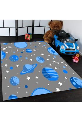 Caprice Uzay Desenli Çocuk Odası Halıları