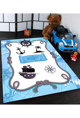 Caprice Korsan Desenli Çocuk Odası Halıları