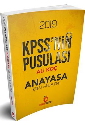Doğru Tercih Yayınları 2019 Kpss'Nin Pusulası Anayasa Konu Anlatımı - Ali Koç