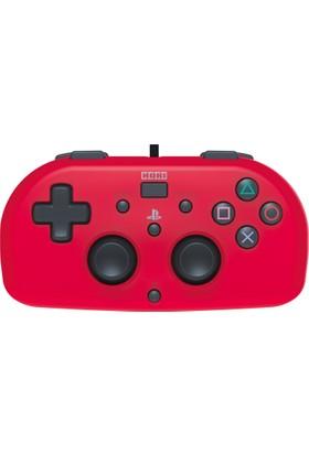 Sony Ps4 Oyun Kolu Hori Kırmızı Mini Gamepad Wired Joystick Sony