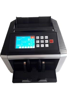 Bill Counter Black Karışık Para Sayma Makinesi TL& EURO
