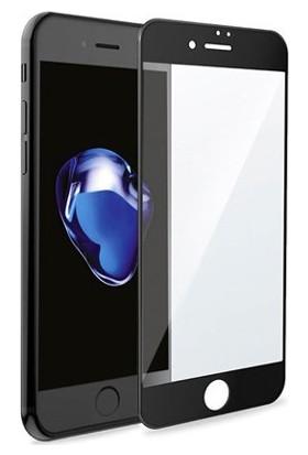 Piili 6D Eğimli Ön iPhone 6/6S Plus Cam Ekran Koruyucu Siyah