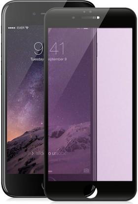 Piili Anti Blue Light iPhone 6/6S/7/8 Plus Cam Ekran Koruyucu Siyah