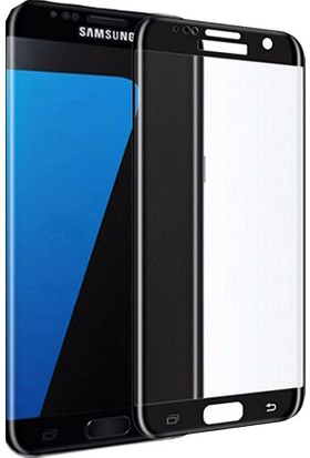 Piili 5D Tüm Yüzey Samsung Galaxy J7 Pro Cam Ekran Koruyucu Siyah