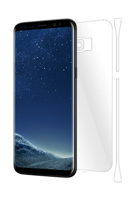 AntDesign Samsung Galaxy S8 Plus TPU Arka Ve Yan Yüz Ekran Koruyucu Film